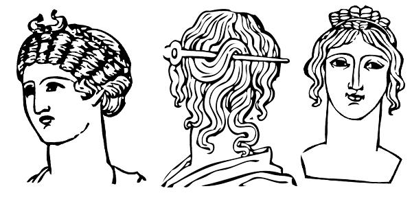 El cabello en la época griega | tendencias en peluquería
